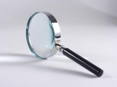 magnifying glass finding